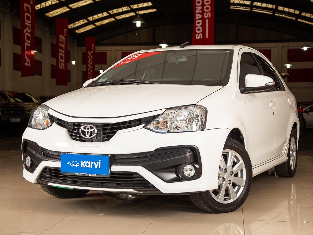 Toyota Etios - 1.5 4 Ptas X 6mt